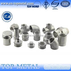 280 Hexagon nipple BS standard galvanized malleable iron pipe fittings