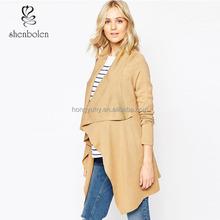 ladies fashion open front cardigan wholesale maternity wear