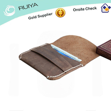 Innovative design Wallet / Holder Made of genuine black leather with microguccissima trim