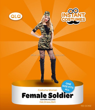 Party sexy military dress uniforms for women