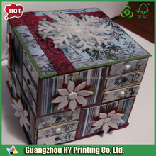 Popular exported custom printed hat box