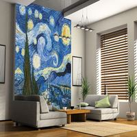 Favored by professionals made in China 3d flower wall paper