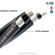 LOW VOLTAGE 0.6/1kv ABC CABLE (AERIAL BUNDLED CABLE ),XLPE.PE INSULATION ABC CABLE