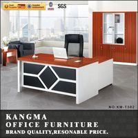 office furniture in riyadh buttoned structure solid wood executive desk