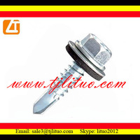hex washer head self tapping screw bolt