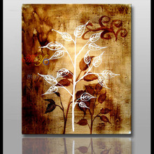 excellent handmade flower oil painting on canvas ct-155