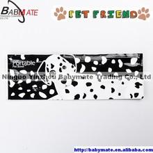 BMP0046 Ningbo BABYMATE Portable Pet Dog Self-Seal Travel Zip Zipped Bowl
