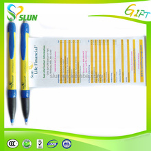 Fancy multi functional retractable personalised pens