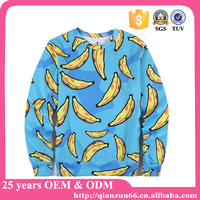 High Quality 100% Polyester Custom Sublimated Sweatshirt hoodies