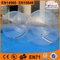 popular 2015 gigante inflável da água esportes bolas