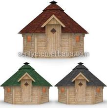 Easy-assembled Wood Garden Houses