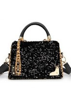 Latest style italian leather shoulder bags for women
