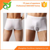 Wholesale stripe confortable natural mens silk underwear with pouch
