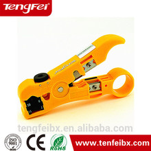 Hot Coax Cable Cutter Wire Stripper Stripping Tool for RG6 RG59 RG11 TV Satellite