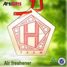 Factory manufacture absorbent new product coffe scent paper car air fresheners