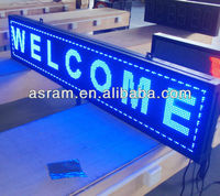 New advertising equipment product VMS solar led moving message sign board