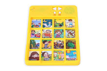 alphabet learning panel kids preschool learning toy