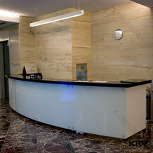 China Alibaba reception counter front table for office