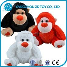 new style soft polyester cute plush stuffed christmas plush toy monkey