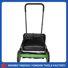 """20"""" Height Manual Hand Push Blade Grass Catcher Cutter Adjustable Lawn Mower"""