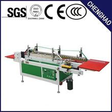 pvc apet clear square box folding and gluing machine