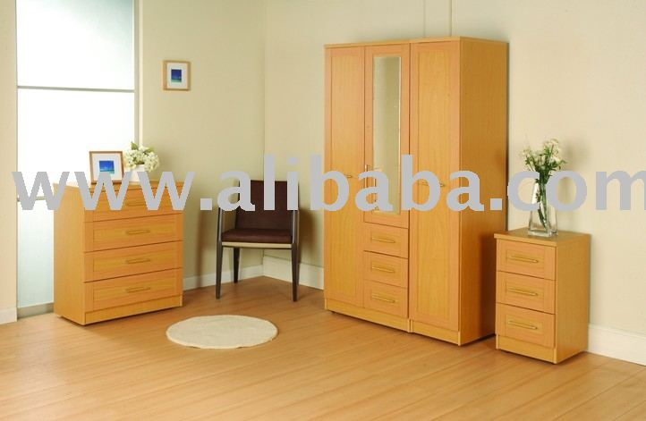 Stamford beech collection wardrobe set buy wardrobe set for Beech bedroom furniture
