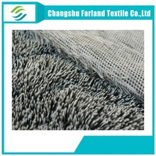 Hot double color faux plush fabric,,Changshu city