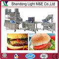 Carne de porco China arroz batata vegetariano máquina de hambúrguer patty