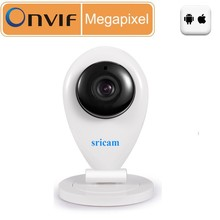 Sricam Megapixel HD Wireless IP Camera Support Pan/Tilt Two way audio and Plug Play ONVIF TF SD Slot hd camera P2P Baby Monitor