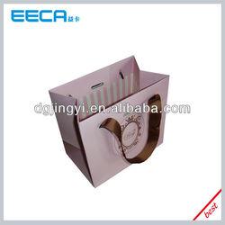 2015 Art Paper Pink Little Paper Bags Wholesale