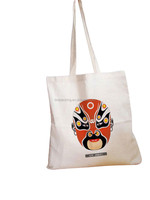 Top quality customized hand painted cotton bag