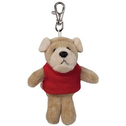 plush dog stuffed animal backpack clip toy keychain , dog clip plush animal