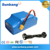 Hot sale 36v 4.4ah 158wh rechargeable lithium battery powered Electric Self Balance Scooter /battery for electric scooter