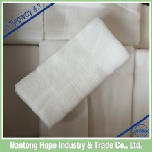 non sterile no package gauze swabs cheese cloth