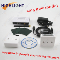 highlight Infrared people counter/network wireless people counter/dual beam infrared counter/ gate counting system