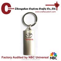 Car brand logo toyota keychain for promotional