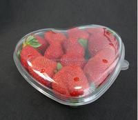 Heart Shape Clam Shell blister packaging box for fruit