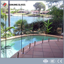 Safety Glass fencing/Tempered Laminated Glass for pool fence /glass railing