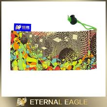 New Products soft packing sunglasses and mobile print microfiber pouch /microfiber cheap cloth bag