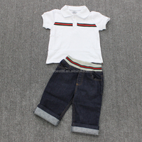 2015 New Brand Baby Fashion Children Clothing Botique Christmas Kids 2pcs Set Pure Cotton Organic Baby Clothes Wholesale Price