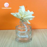 50ml Beautiful Flower Vine Engraved Diffuser Glass Bottle