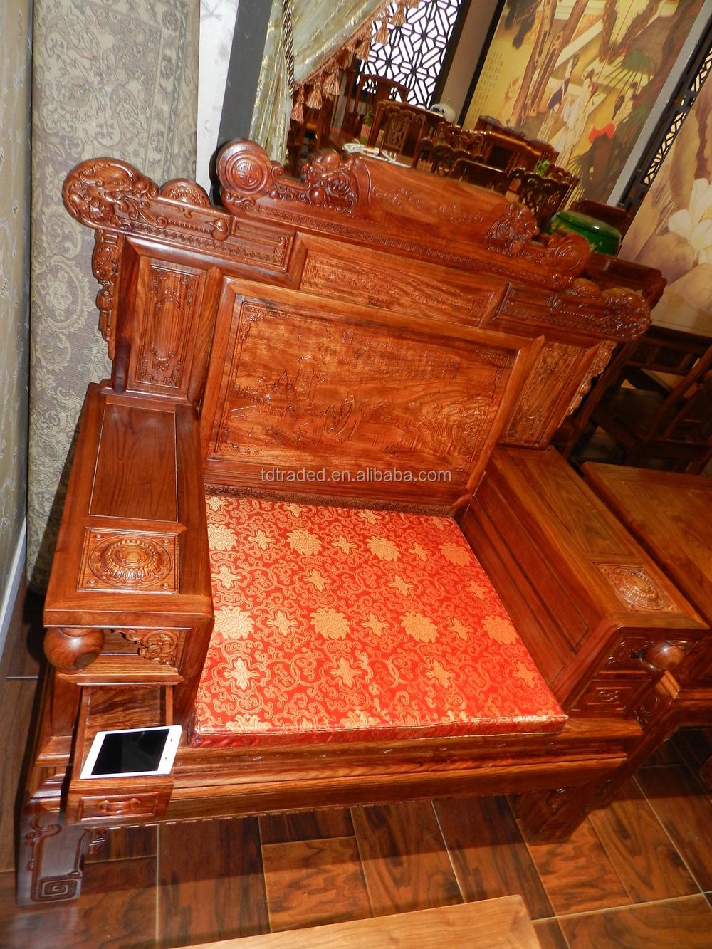 hoge kwaliteit rode houten meubelen-slaapkamer sets-product-ID ...