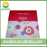 Adjustable Fabric Paperback Book Cover with handmade size(GJ-071)