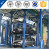 pjs 4 post 3 layer outdoor easy simple mechanical elevated car parking lift