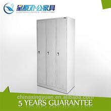 3doors Metal Colorful Clothes Wardrobe Home Furniture