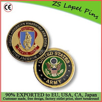 Personalized design and logo U.S. Army challenge coin