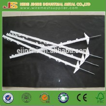 2015 China factory hot sale double Step Poly and steel spike Electric fence posts