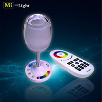 romantic atmosphere USB charge Win Light Wifi and RF remtoe control portable RGBW party decoration light