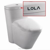 20Watt portable permanent laser marker printer on Bathroom accessory