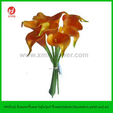 9 Heads Calla Lily Bunch For Garden Ornaments